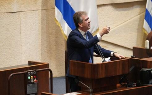 """שר המודיעין אלי כהן: """"אני מאשר שאיראן מבצעת פעילות בישראל שנועדה להשפיע על דעת הקהל הישראלית"""""""