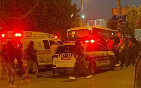 פגע וברח בירושלים: שני הרוגים וחמישה פצועים מפגיעת אוטובוס סמוך לקבר רחל