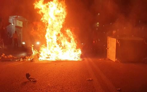 """מ""""מ המפכ""""ל על האלימות במחאה על מות אהוביה סנדק: """"הקצנה חמורה, אסור שתתרחש"""""""