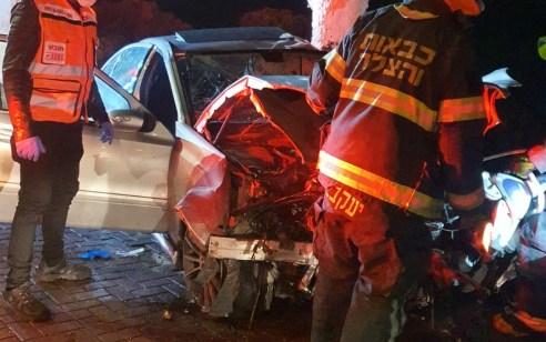 בן 22 התנגש עם רכבו בעץ בנוף הגליל – מצבו בינוני