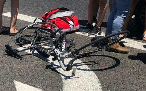 רוכב אופניים בן 65 נהרג מפגיעת משאית סמוך לצומת כרכור