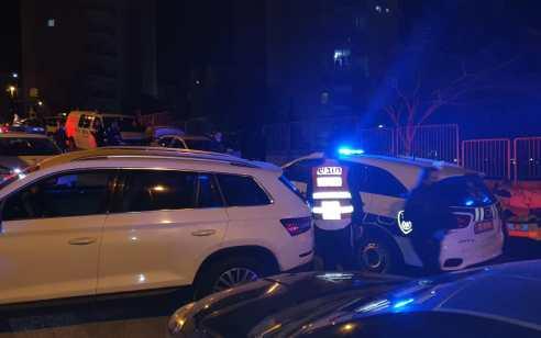שוטרים ירו לעבר רכב שדרס שוטר בחיפה – שני פצועיםפונו במצב אנוש וקל