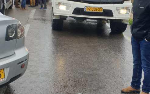 צעירה נפצעה בינוני עד קשה בתאונה בצומת גבעת אסף
