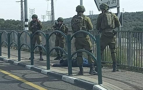 פיגוע דקירה באזור אריאל: חיילת נפצעה קל – המחבל חוסל