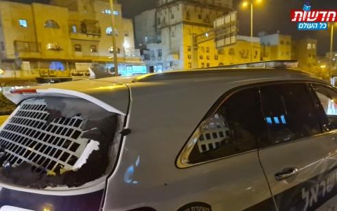 ערב של הפגנות סוערות בירושלים: שמשות של אוטובוס וניידת נופצו – 20 נעצרו | צפו