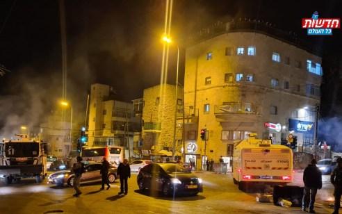 צפו: מחאה נגד הרכבת הקלה בירושלים – 10 מפגינים נעצרו