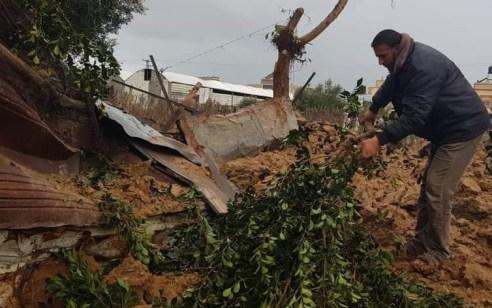 """בתגובה לירי שבוצע לעבר ישראל: צה""""ל תקף סדנאות לחפירת מנהרות של חמאס ברצועת עזה"""