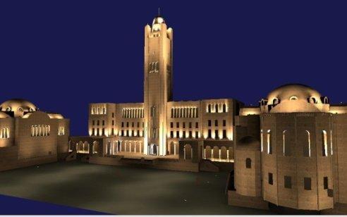 הבירה האירופאית: עיריית ירושלים מאירה את המבנים ההיסטוריים בעיר