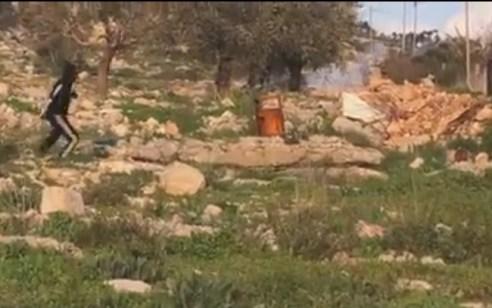 ארבעה מחבלים נפצעו במהלך הפרות הסדר עם כוחות צה״ל בג'נין   תיעוד