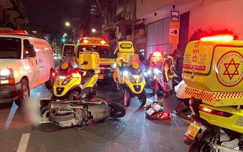 רוכב קטנוע בן 29 נהרג בתאונה בתל אביב