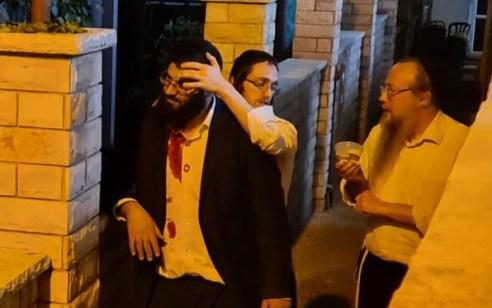 שני גברים נפצעו קל במהלך עצרת תמיכה של יהדות התורה בבני ברק