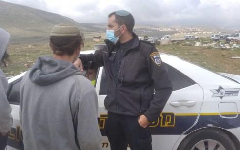 """קראו לעבר שוטרים """"ימ""""ר ש""""י רוצחים"""" בפורים – ונעצרו הבוקר"""