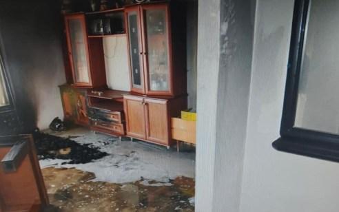 כתב אישום נגד תושב נשר שהצית דירה בבניין מגורים בעיר וגרם לנזק גדול