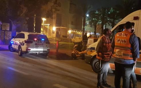 רחובות: גבר כבן 20 אותר דקור ברחוב – מצבו בינוני