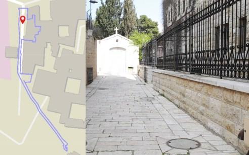 כך הסתירה עיריית ירושלים את מנהרת הכנסיה הסודית