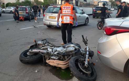 רוכב אופנוע כבן 30 נהרג בתאונה באור עקיבא