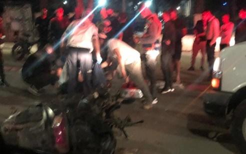רוכב אופנוע בן 18 נפצע בתאונה בבית שאן