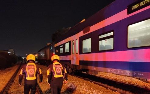 גבר כבן 40 נהרג מפגיעת רכבת סמוך לאיזור התעשייה בקרית חיים