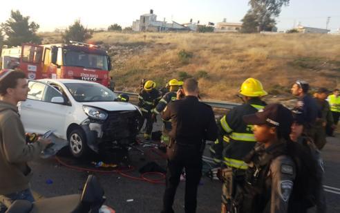 רוכב אופנוע בן 27 נהרג בתאונה סמוך לביתר עילית