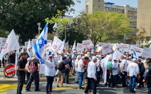 """""""כולנו איציק סעידיאן"""": מאות הפגינו מול הקריה בתל אביב – מצבו מוסיף להיות אנוש"""