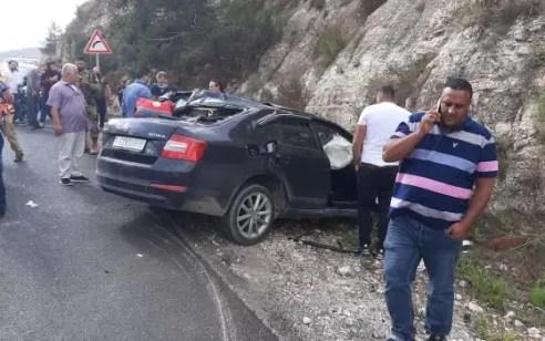 הולכת רגל כבת 75 נהרגה בתאונה בכביש 60 סמוך לעתניאל