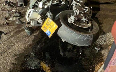 בן 20 נפצע קשה וגבר בן 67 נפצע קל בתאונת בין אופנוע לרכב בנצרת