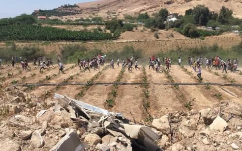 טנקים ירו לעבר מספר חשודים שחצו מלבנון לשטח ישראל – הם שבו על עקבותיהם