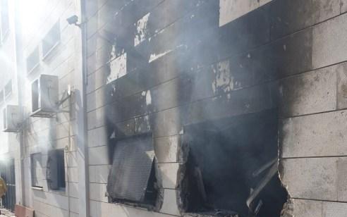 המשטרה והשב״כ עצרו תושב אום אל פאחם בחשד להצתת נקודת המשטרה בעיר