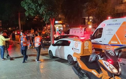 רוכב אופנוע כבן 30 נפצע בתאונה בתל אביב – מצבו בינוני