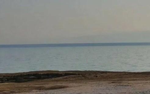 גבר כבן 67 נמשה ללא רוח חיים בחוף דניאל בים המלח