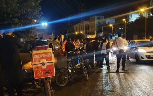 ירושלים: הולך רגל בן 58 נפגע באורח קשה בתאונת דרכים