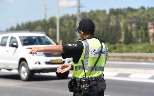 """תושב סחנין נתפס נוהג במהירות של 172 קמ""""ש ובבדיקת ינשוף נמצאו 574 מ""""ג אלכוהול"""