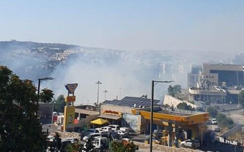 שתי שריפות פרצו בירושלים: אחת בליפתא והשנייה באורה – קו בתים ראשון באזור הליפתא פונה