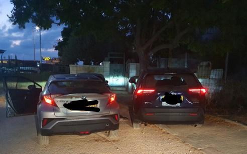 בתום מרדף רכוב ולאחריו מרדף רגלי ממושך הצליחו שוטרים לעצור שני גנבי רכבים בשרון