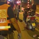 כביש 444: שני רוכבי אופנוע בני 20 נפצעו בינוני וקל
