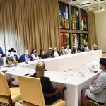 נשיא המדינה ורעייתו ערכו לימוד להושענא רבה בסימן 200 שנה לפטירת הרב רפאל בירדוגו