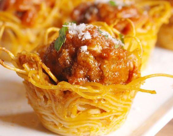 Spaghetti Cups
