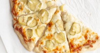 Garlic Pickle Pizza