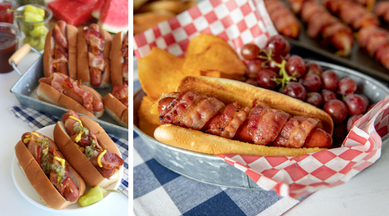 Bacon Cheese Dogs