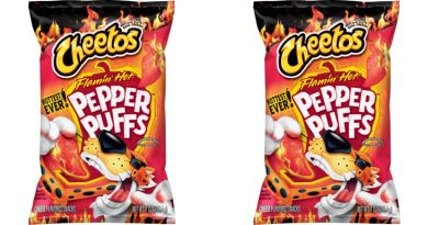 Flamin' Pepper Puffs