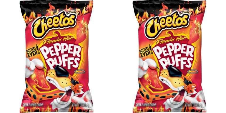 Flamin' Pepper Puffs