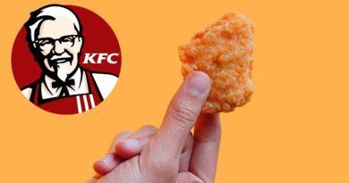 KFC 3d print nuggets