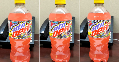 Mountain dew pink lemonade