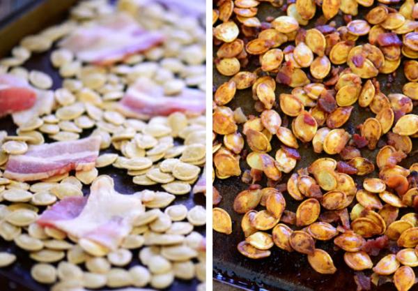 bacon pumpkin seeds