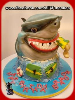 Shark Cake - All4Fun Cakes