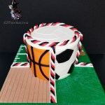 Sports Soccer Baseball Football Basketball Physical Education PE Special Occasion Cake for Beavercreek Elementary PTO Fundraiser by All4Fun Cakes LLC 2018