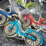 Fun Bicycle Decorated Cookies