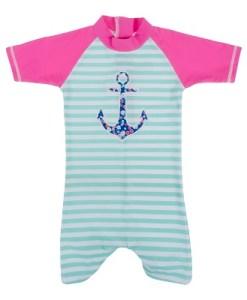 Baby Banz enodelno kopalno oblačilo s sidrom