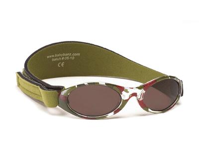 Sončna očala Adventure Banz zelena lisasta