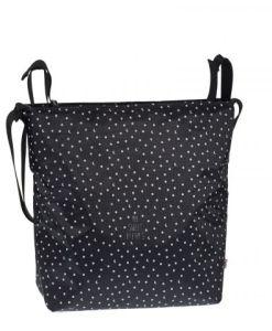torba za voziček sladke sanje, črna